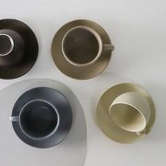 엘크 무광 커피잔세트 290ml 4color 선택