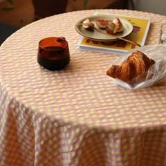 온더옐로스쿨 식탁보 테이블보 2size 테이블러너