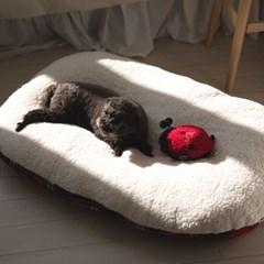 펫페이스 클래식 체크 베드 방석 (강아지 고양이 겸용)