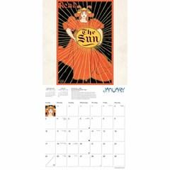 2021년 캘린더(FT) Art Nouveau Posters