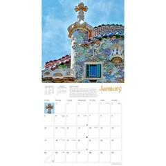 2021년 캘린더(FT) Gaudí