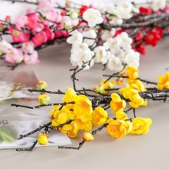 프리미엄흑매화가지 120cm 조화 꽃 인테리어 FAIAFT_(1864715)