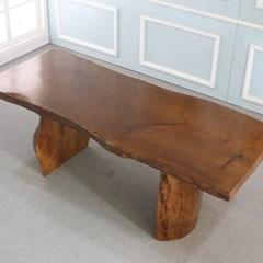 우드슬랩 DIY상판목재 원목 테이블 자연형_(246856)