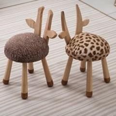 동물친구 어린이 의자 탁자 원목테이블_(246765)