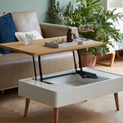 다기능 거실 리프트 테이블 대형 (미우새 테이블)_(246542)