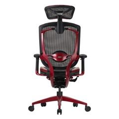 디베리 메리트 레드에디션 사무용 컴퓨터 메쉬 의자