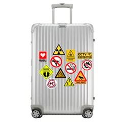 트래블 캠핑 노트북 여행가방 데코스티커 - 주의사항A - 50매