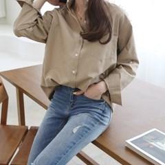 [하늘바라기]레이 어텀 베이직 셔츠