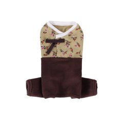 [A.와플플라워 한복올인원]Waffleflower Hanbok AIO_Brown