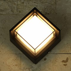 LED 오클 사각벽등(3000K)