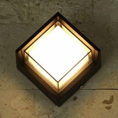 LED 돌핀 사각 벽등(6000K)