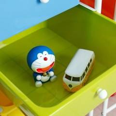 이동식 트롤리 수납장 장난감 기저귀 정리함 4단