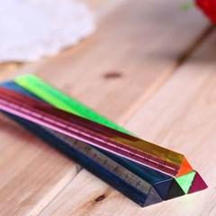 기본형 삼각자1개(색상랜덤)