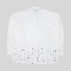 painting oversize shirt (white)