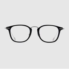 LARK silver-black 안경 블루라이트 남자 베타 티타늄_(2397726)