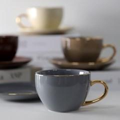 엘크 24K 골드 커피잔세트 290ml 4color 선택