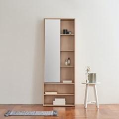 [두닷모노] 루나 전신거울 와이드 슬라이딩 수납화장대