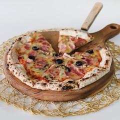 통원목 피자 트레이 2size