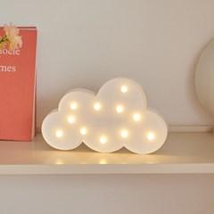 LED 구름 클라우드 무드등 인테리어 조명_(1627850)