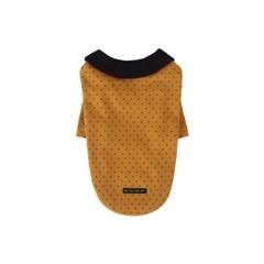 [T.제티도트 티셔츠]Jetty dot T_Mustard