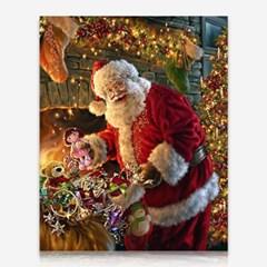 살찐 산타클로스 DIY 보석십자수 십자수 비즈세트_(2462523)