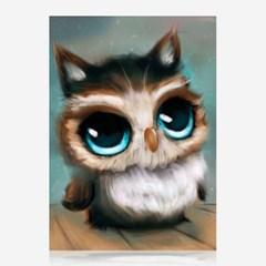 왕눈이 부엉이 DIY 보석십자수 십자수 비즈세트_(2462519)