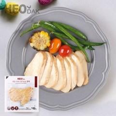 [허닭] 프레시 슬라이스 닭가슴살 100g 5종 5팩