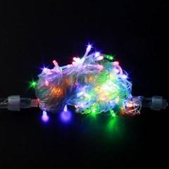 NEW LED전구 100p 투명선 칼라 트리전구/장식전구