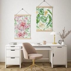 풍수에좋은 수채화 그림 인테리어 포스터 17종 A2 size
