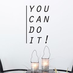 you can do it 할수있다 레터링 인테리어 스티커