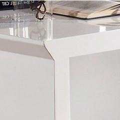 리치웰 하이그로시 베니쉬 3단서랍 화장대세트 (화장대+경) 1500