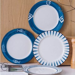 미니멀 파스타 접시 1개(색상랜덤)