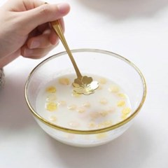 미니멀 커트러리 벗꽃 티스푼 1개(색상랜덤)