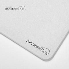 대림바스 규조토 양면 발매트 + 미끄럼방지 패드