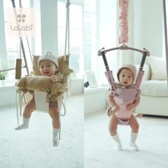 라라비 스윙점퍼 프리미엄 + 포터블키트  아기그네 변신 점퍼루 쏘서