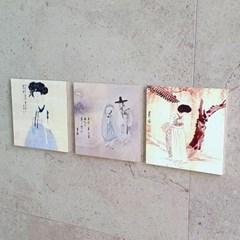 [BooKiss]명화뜨레스 신윤복-연인 한국화 그림액자