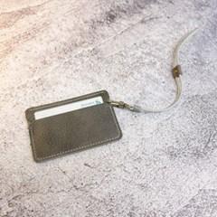 천연가죽 카드케이스 - 온리원포켓  스트랩세트 [Dusty Stone]