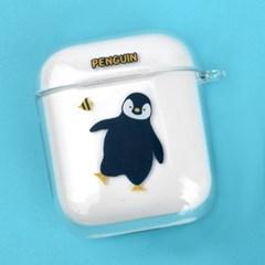 나인어클락 클리어 하드 바다동물 에어팟 케이스+키링세트