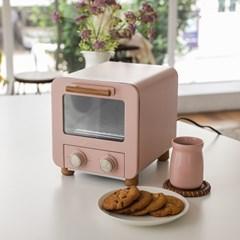 [MOSH] 모슈 미니 오븐 토스터기 핑크