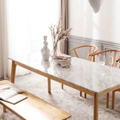 모딜리아니 대리석 원목 6인 식탁 테이블