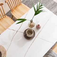 모딜리아니 세라믹 원목 4인 식탁 테이블