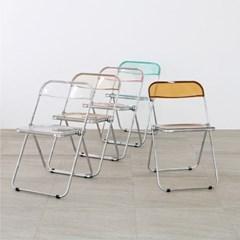 도노 플리아 체어 투명 접이식 의자_(1556862)