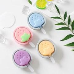 실리콘 샤벳 아이스크림틀 1개(색상랜덤)