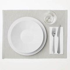 모던 패브릭 식탁매트 그레이베이지 1개