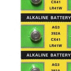 10p AG3(LR41)알카라인 버튼 건전지