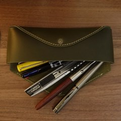 Pencil Case_Two Ways [Snazzy Olive]