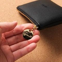 프롬미 이니셜 카드지갑 ver4_블랙(Black)