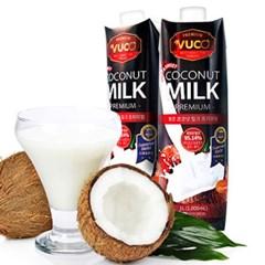 뷰코 베트남 코코넛 밀크 우유 1리터 (1박스 6개입)