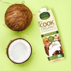 뷰코 유기농 요리 밀크 코코넛 쿡 오가닉 1리터 (1박스 6개입)