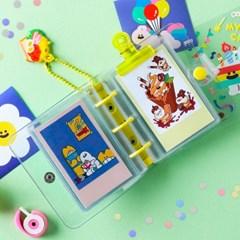 미니 3공 바인더 포토카드 슬리브 10매 Set (양면/단면)